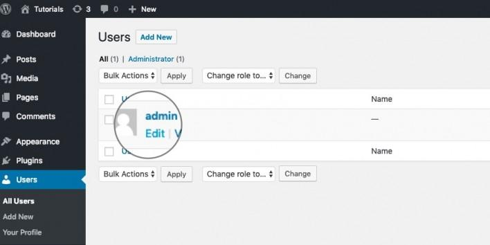 How to change the WordPress Admin Colour Scheme