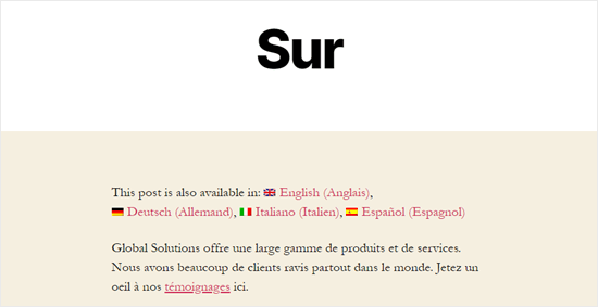 How to Easily Automatically Translate Your WordPress Post Into Other Languages