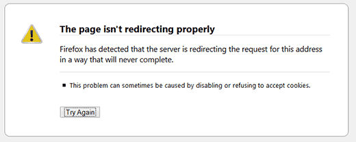 How To Fix WP Site Redirecting Too Many Times