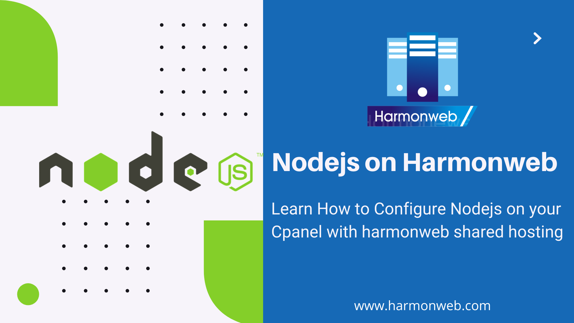 Setting up Nodejs on Harmonweb Shared hosting